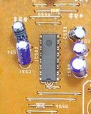 Detaljer för strömkretsbräde arkivfoton
