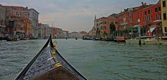 Detaljer från gatorna av Venedig Arkivfoto