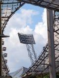 Detaljer från Olympicet Stadium, Munich Royaltyfri Bild