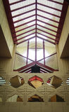 Detaljer Frank Lloyd Wright Lakeland College Florida Southern Royaltyfri Foto
