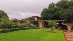 Detaljer Frank Lloyd Wright Lakeland College Florida Southern Royaltyfri Bild