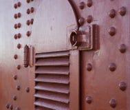 Detaljer och fragment av golden gate bridge Arkivbilder