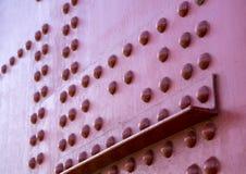 Detaljer och fragment av golden gate bridge Royaltyfri Foto