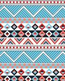 Detaljerad etnisk design Royaltyfri Foto