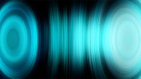 Detaljerad futuristisk ljudsignal utjämnareögla Livlig bakgrund för abstrakt begrepp med ljudsignal waveform Sömlös ögla Färgton stock illustrationer