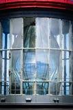 detaljerad glass fyr Arkivfoton