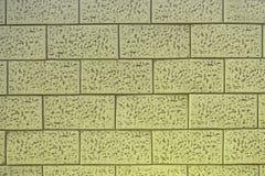 Detaljerad keramisk bakgrund och textur för tegelstentegelplattavägg Royaltyfria Bilder