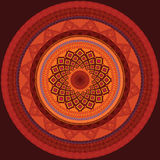 detaljerad mandala för design Fotografering för Bildbyråer