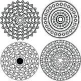 detaljerad mandala för design Royaltyfria Foton