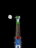 Detaljerad tandläkare Tool med tanden Royaltyfria Bilder