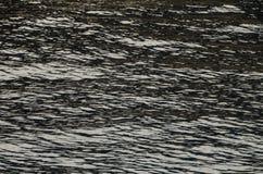 Detaljerad textur av havsvatten Arkivfoto