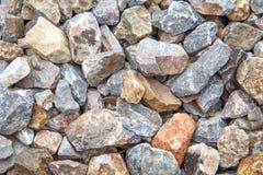 detaljerad verklig sten för bakgrund mycket Royaltyfri Fotografi