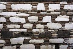 detaljerad verklig sten för bakgrund mycket Arkivbild