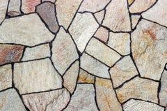 detaljerad verklig sten för bakgrund mycket Bakgrundstextur av en sten- och marmorvägg Arkivfoto