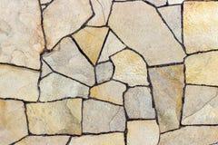 detaljerad verklig sten för bakgrund mycket Bakgrundstextur av en sten- och marmorvägg Royaltyfri Foto
