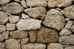 detaljerad verklig sten för bakgrund mycket vägg för sten för bakgrundsfärggrunge Royaltyfria Bilder
