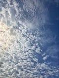 Detaljerade Cloudscape Royaltyfria Bilder