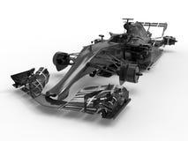 Detaljerat chassi för tävlings- bil vektor illustrationer