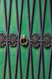 Detaljerat kulört dörrfoto, slut upp royaltyfria foton