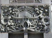 Detaljfasad Louis Sullivan Building, Chicago Arkivfoto