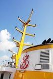 detaljferryboat istanbul Royaltyfria Bilder