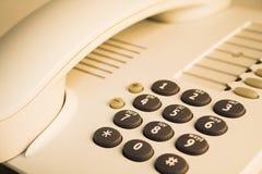 detaljkontorstelefon Royaltyfri Bild