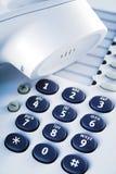 detaljkontorstelefon Fotografering för Bildbyråer