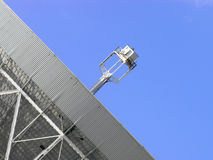 detaljradioteleskop Arkivfoton