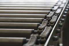 detaljrulle för chain transportör Royaltyfri Foto