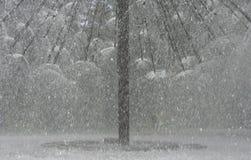 detaljspringbrunnsprej Royaltyfri Foto