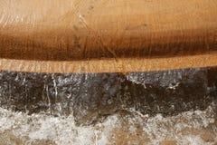 detaljspringbrunnvatten Arkivfoto