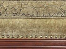detaljupholstery arkivfoto