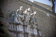 DetaljVaticanen rome Italien Royaltyfri Foto