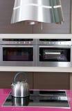 Detall of modern kitchen Royalty Free Stock Photos