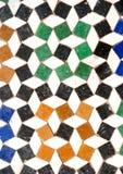 Detalle árabe de la pared Foto de archivo libre de regalías