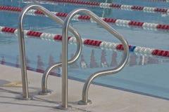 Detalle 2 de la piscina fotos de archivo