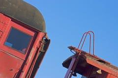 Detalle 3 del tren Foto de archivo libre de regalías