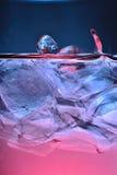 Detalle 7 del hielo Foto de archivo