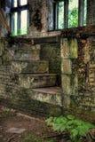 Detalle abandonado de la casa Foto de archivo libre de regalías
