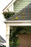 Detalle abandonado de la casa Imagen de archivo