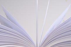 Detalle abierto del libro Foto de archivo libre de regalías