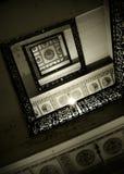 Detalle abstracto de escaleras rústicas Fotografía de archivo libre de regalías