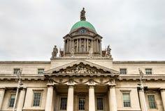 Detalle aduanas en Dublín Fotos de archivo libres de regalías