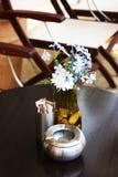Detalle al aire libre del café Imagen de archivo libre de regalías