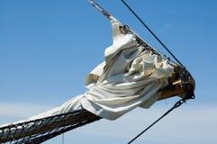 Detalle alto de la nave fotografía de archivo