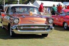 Detalle americano clásico del coche Imagen de archivo libre de regalías