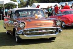 Detalle americano clásico del coche Fotos de archivo libres de regalías