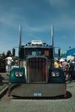 Detalle antiguo del camión, A.C., Canadá Imagen de archivo