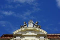 Detalle arquitectónico 2 Fotografía de archivo libre de regalías