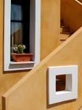 Detalle arquitectónico - Andros fotos de archivo